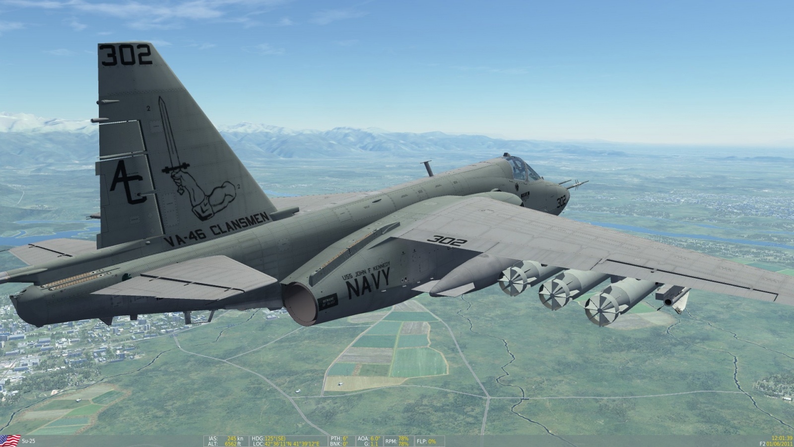 Su-25: US Navy Attack Squadron 46 (VA-46)