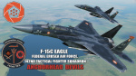 "Ace Combat - Federal Erusian Air Force 142nd TFS ""Anchorhead Devils"" F-15C Eagle"