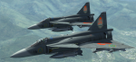 JA 37 Swedish Air Force skin to LNS AJS 37