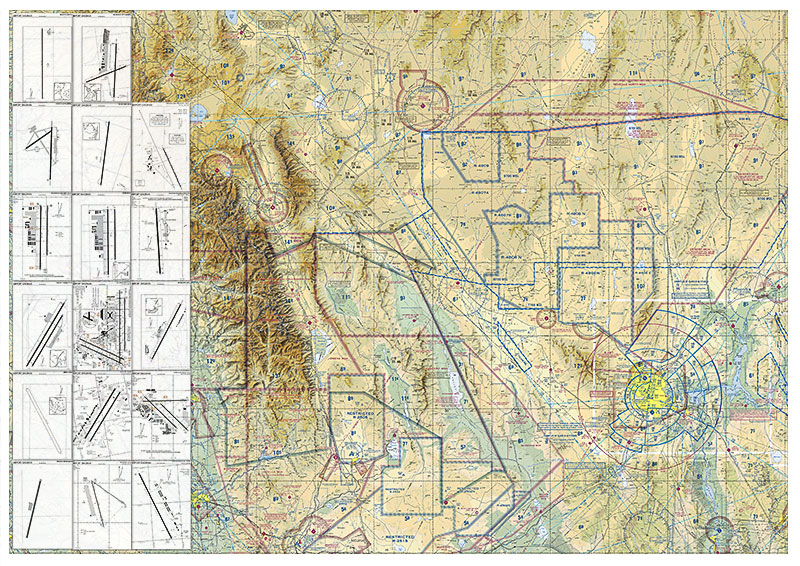 The Nevada Map And Airport Diagrams - Nevada map