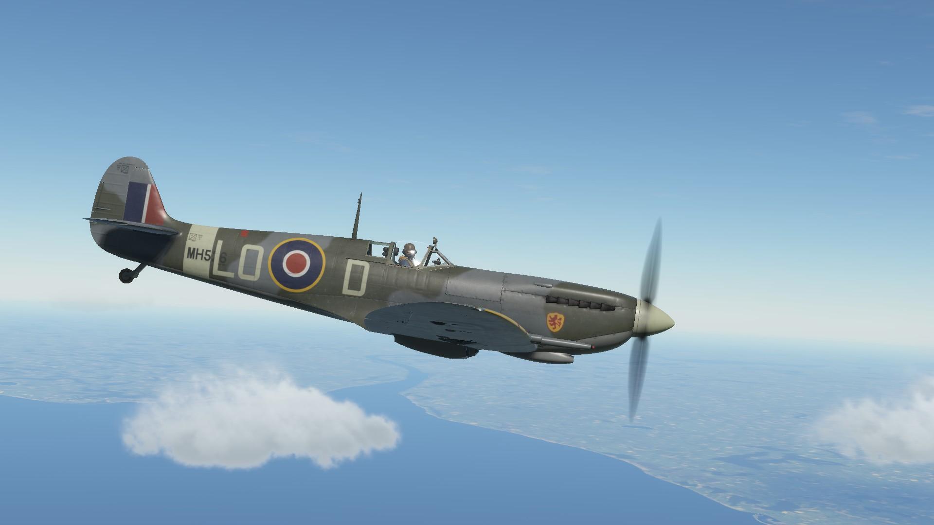 Обои spitfire, mk.ixc, Supermarine. Авиация foto 19