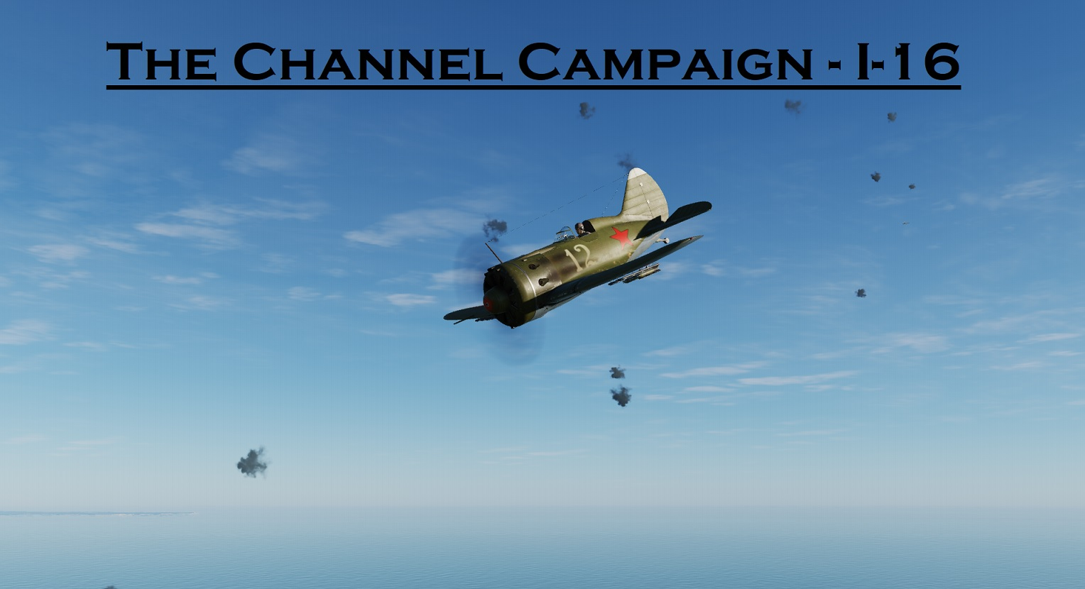 WWII The Channel I-16 using Mbot Dynamic Campaign Engine