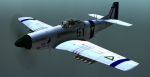 P-51D Belkan Air Force Indigo Wing