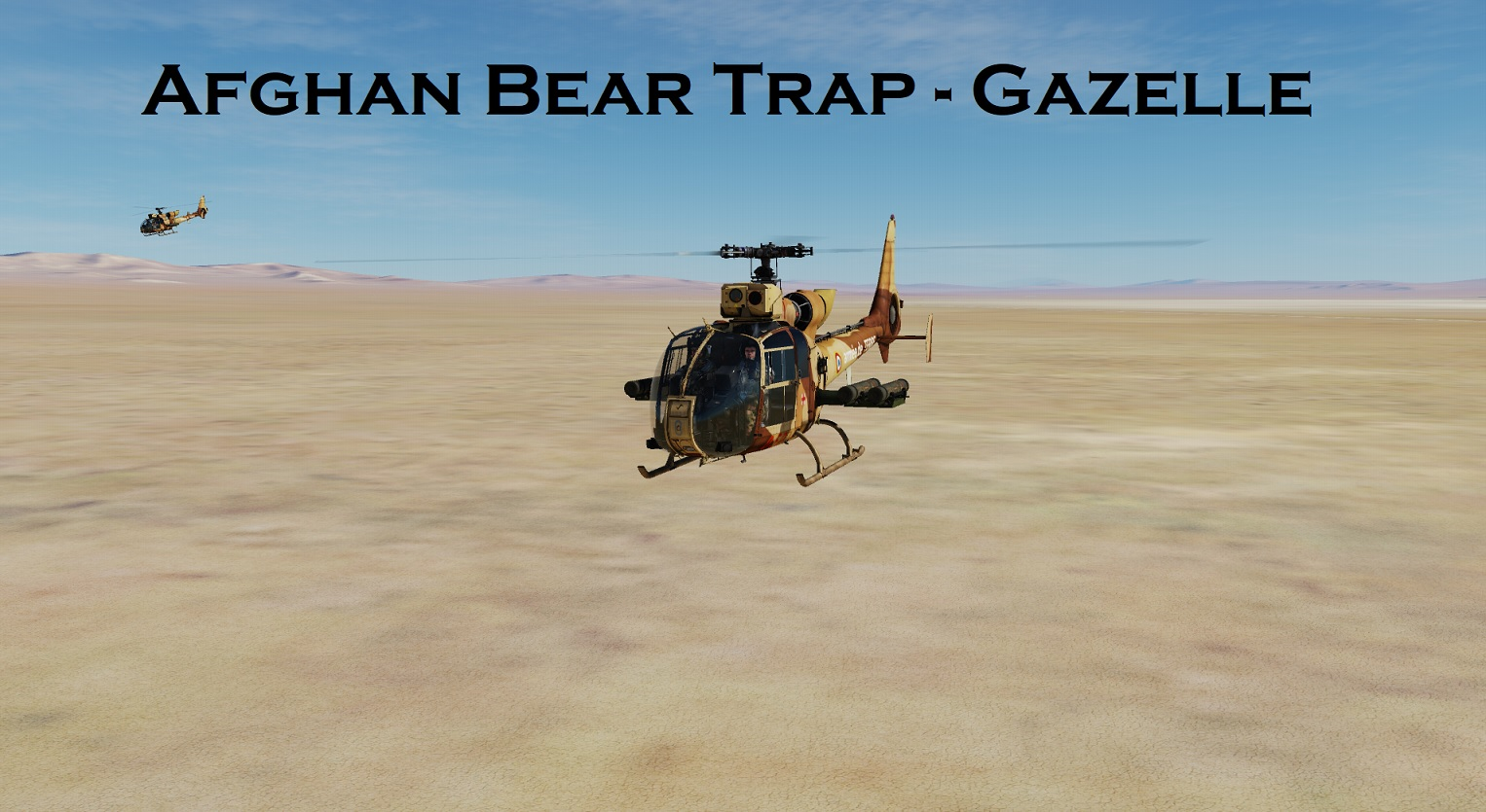 Afghan Bear Trap - Gazelle using Mbot Dynamic Campaign Engine