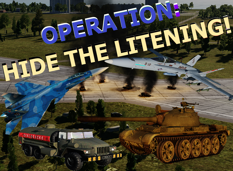 OPERATION: HIDE THE LITENING!  (Shore Start)
