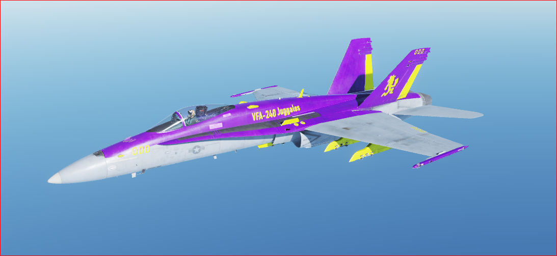 F/A-18C - VFA-240 Juggalos [Fictional]