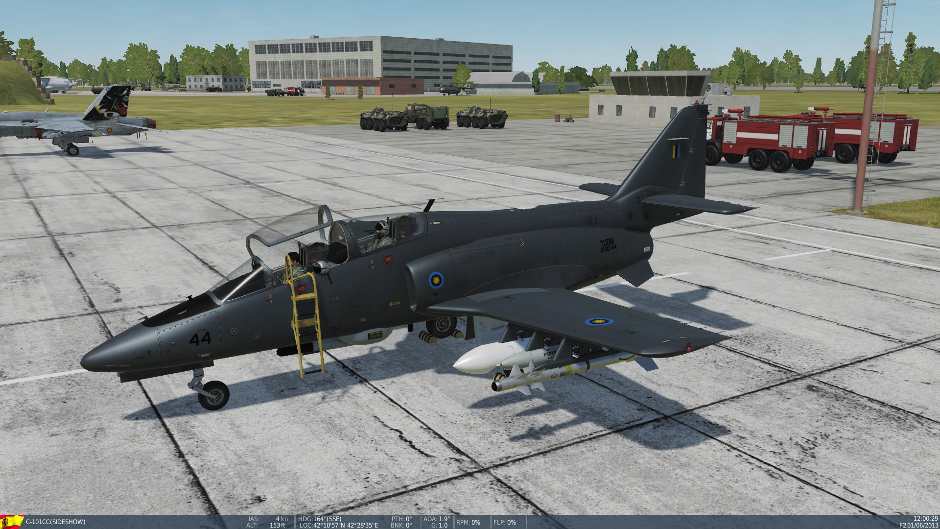Fictional Royal Malaysian Air Force skin for C-101CC *Updated with new Roughmet Textures.*
