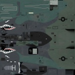 A-10C Sharkmouth
