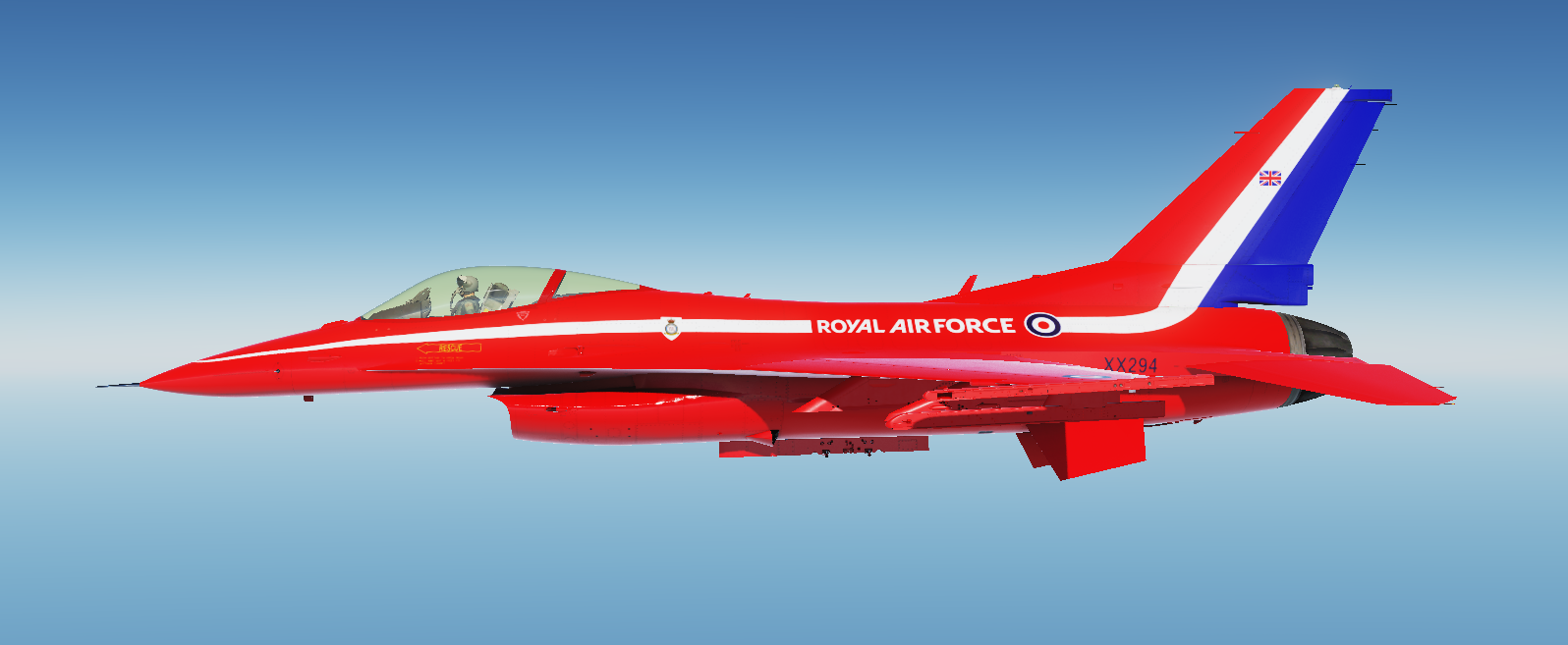 RAF Red Arrows for F16