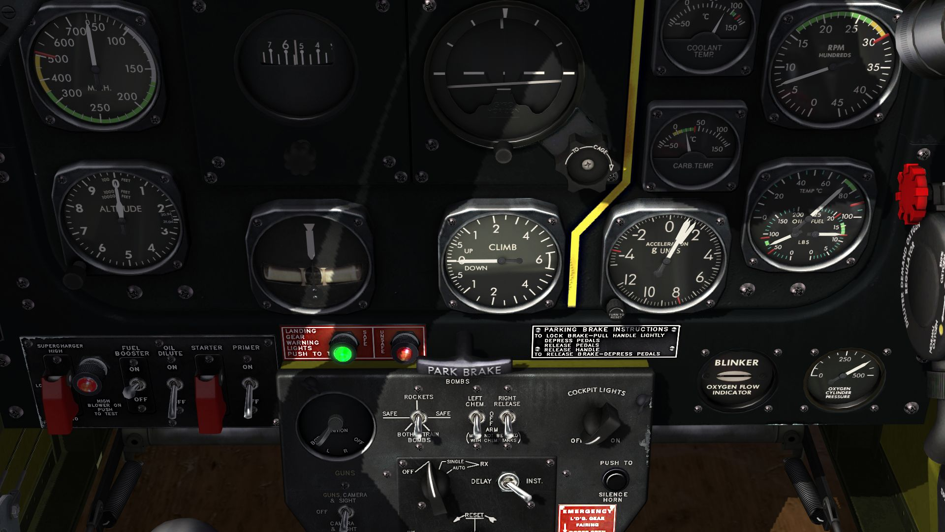 P51 New Cockpit Hd V3