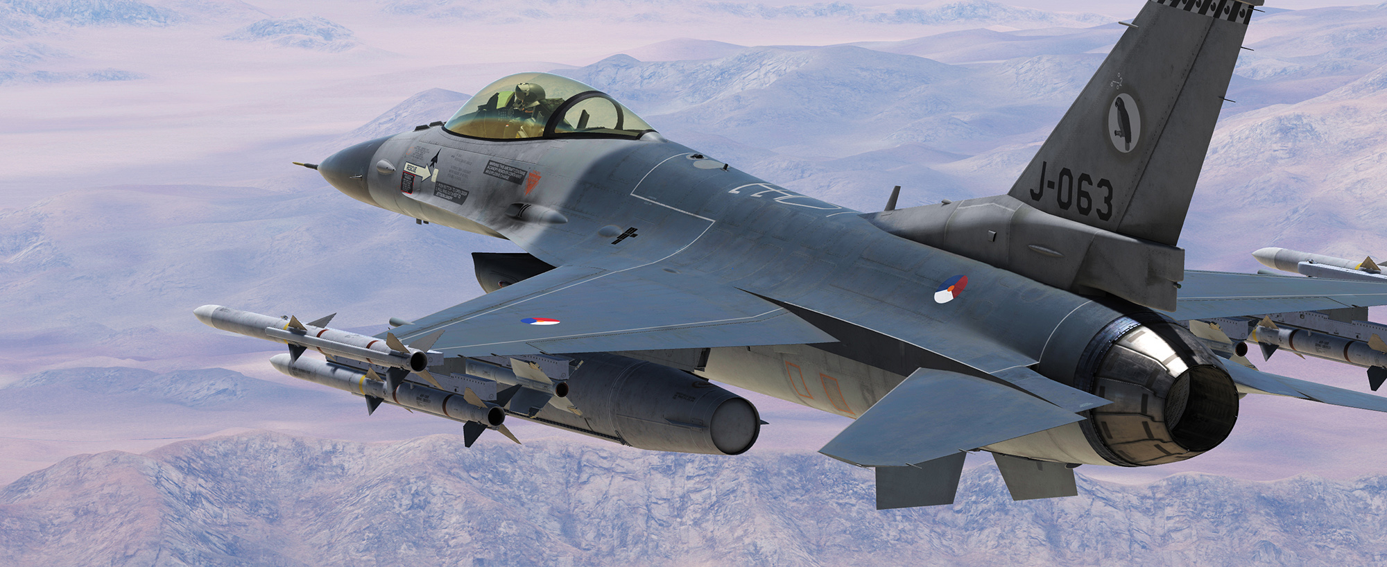 Dutch F-16 322SQ by Mispunt - V0.5