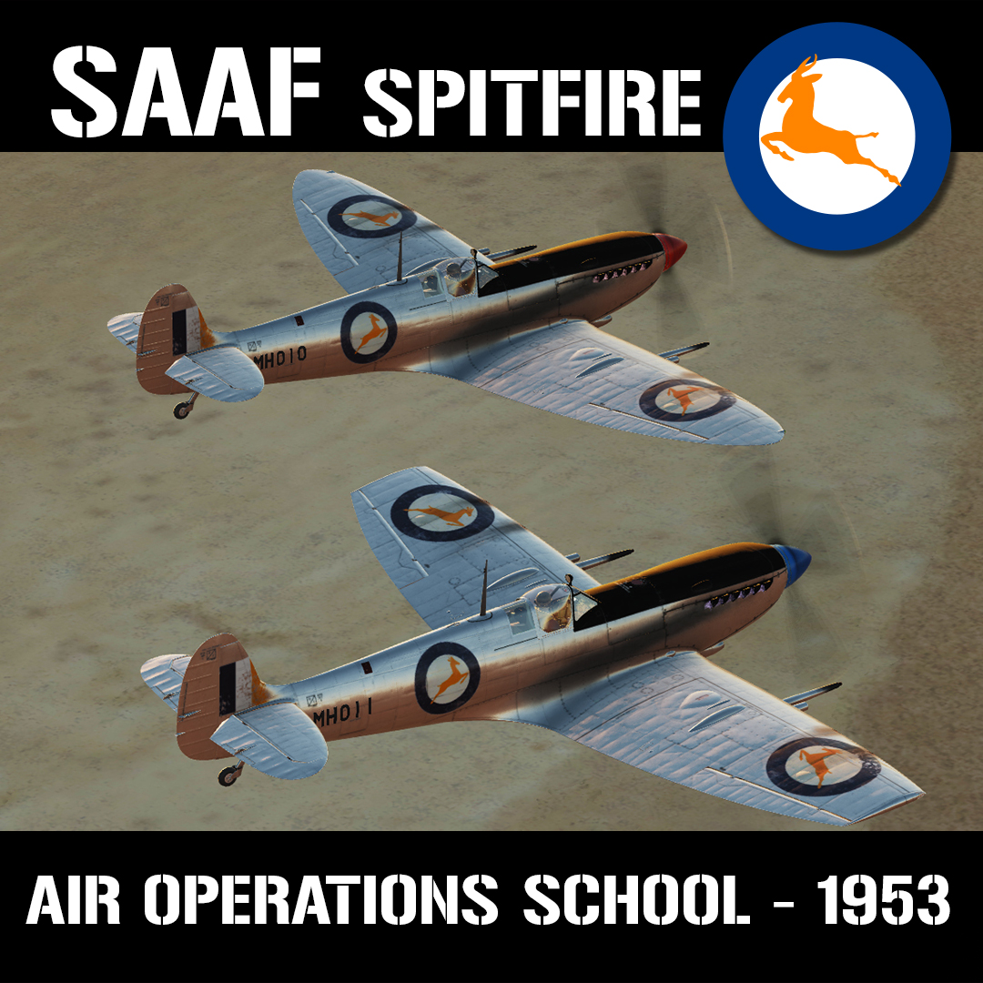SAAF Spitfire - Air Operations School 1953 (v1.0)