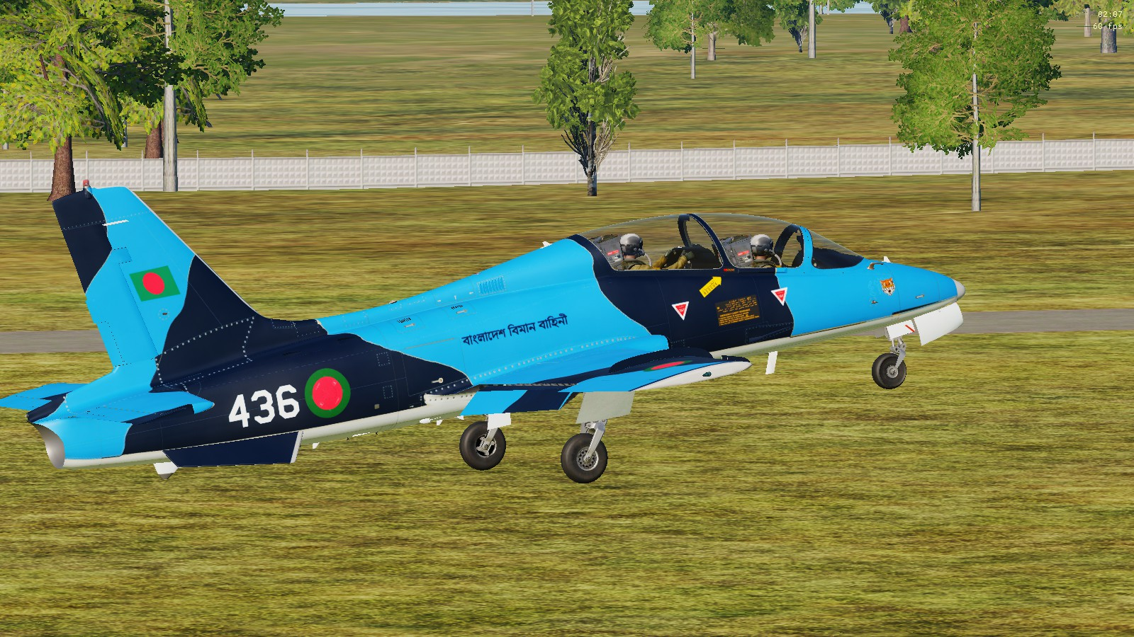 MB-339A BANGLADESH AIR FORCE SKIN