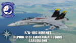Ace Combat - Republic of Emmeria Air Force Garuda One F/A-18C Hornet