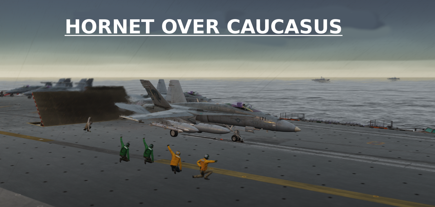 Hornet over Caucasus using Mbot Dynamic Campaign Engine