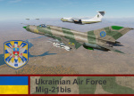 Ukrainian Air Force Mig-21bis 40th Tactical Aviation Brigade (semi historical)