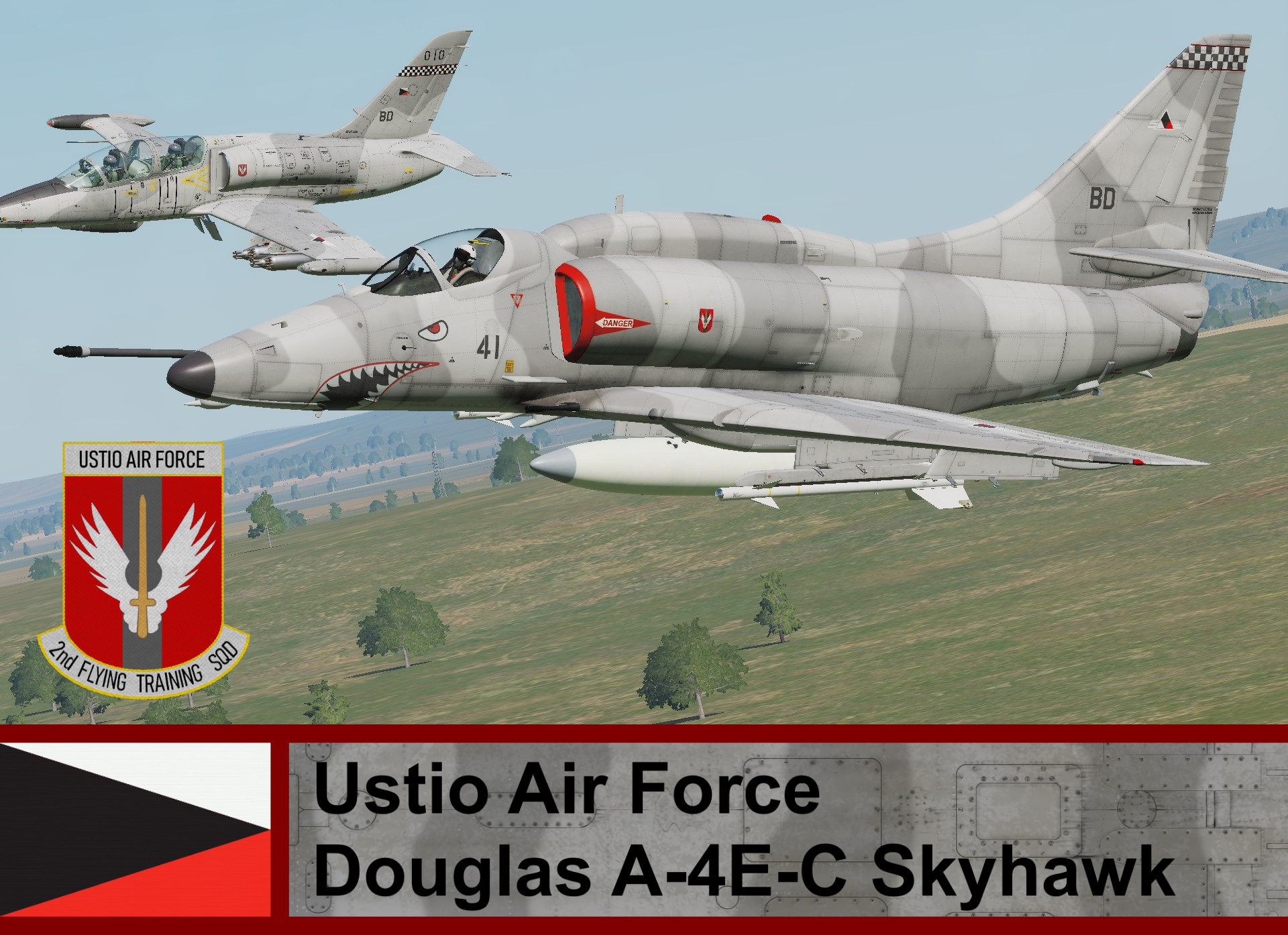 Ustio Air Force A-4E-C SkyHawk- Ace Combat (2nd FTS) Cpt: Gabriel Nowak