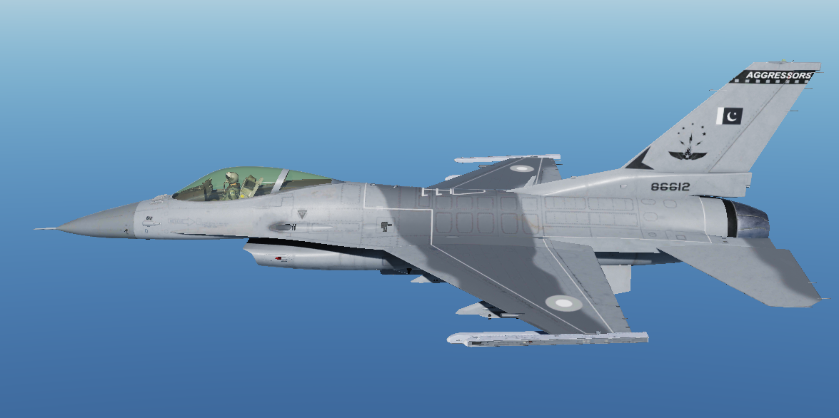 "F16C Pakistan AirForce No.29 Squadron ""AGGRESSORS"" Livery V1.0"