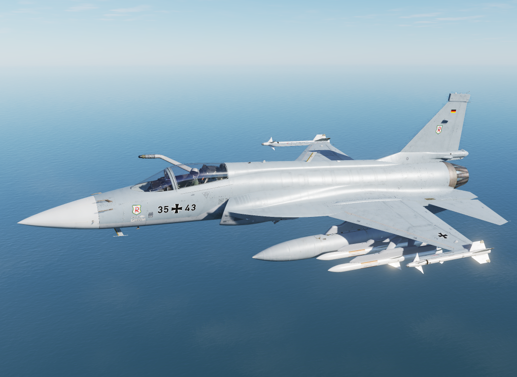 Fictional german airforce JF-17 Richthofen v1.1