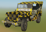 "Willys MB ""Follow Me"" Jeep"
