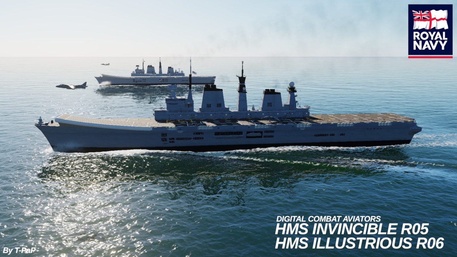 HMS Invincible & HMS Illustrious - R05 and R06 V.1.5 NEW UPDATED 15/02/2020