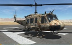UH-1H Huey - No Markings - Octocamo Desert (CADPAT+MADPAT colors) (Fictional)