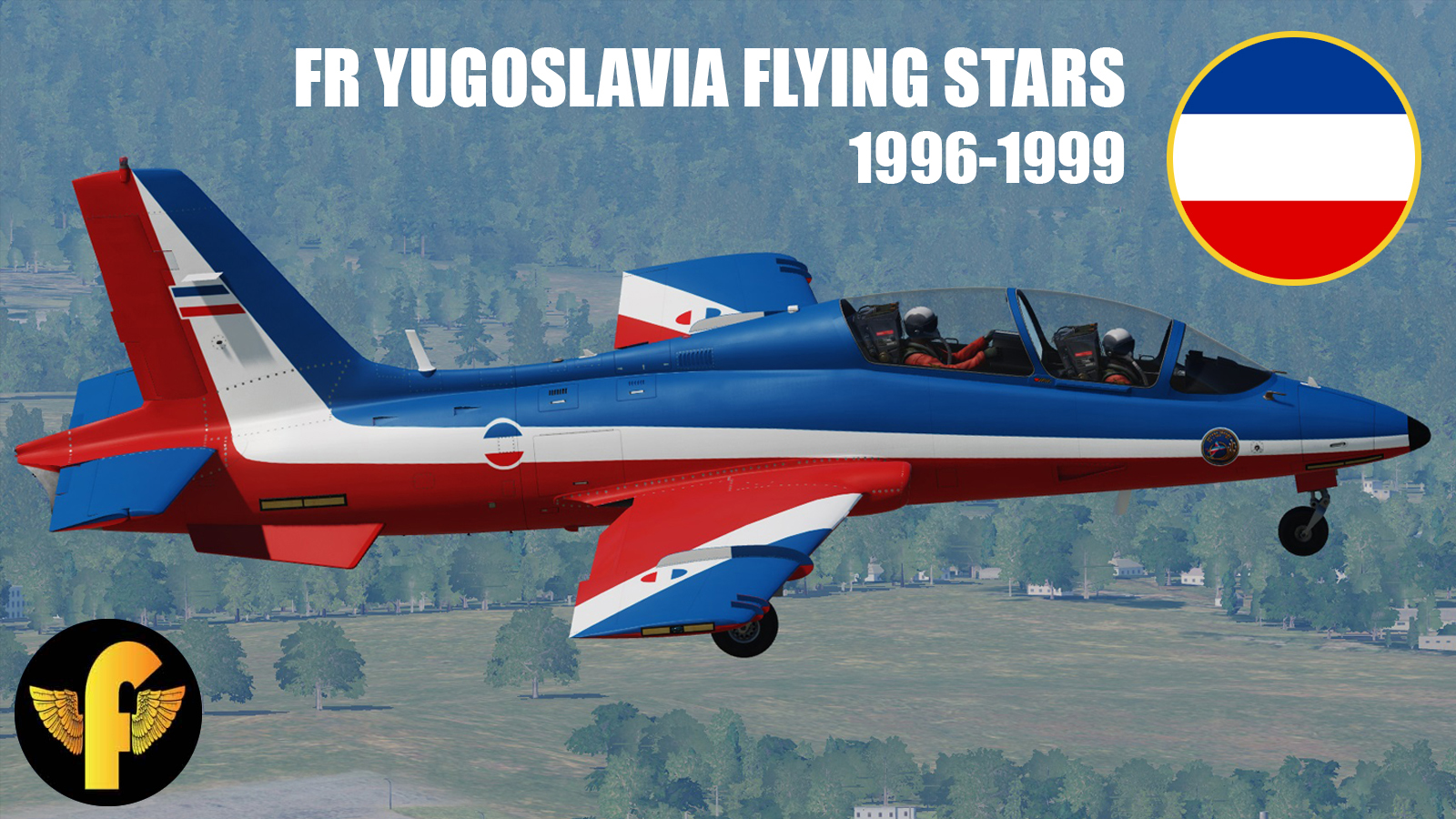 """Flying Stars"" Aerobatic Team, FR Yugoslavia Air Force"