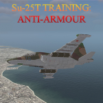 Su-25T Anti-Armour Training Mission