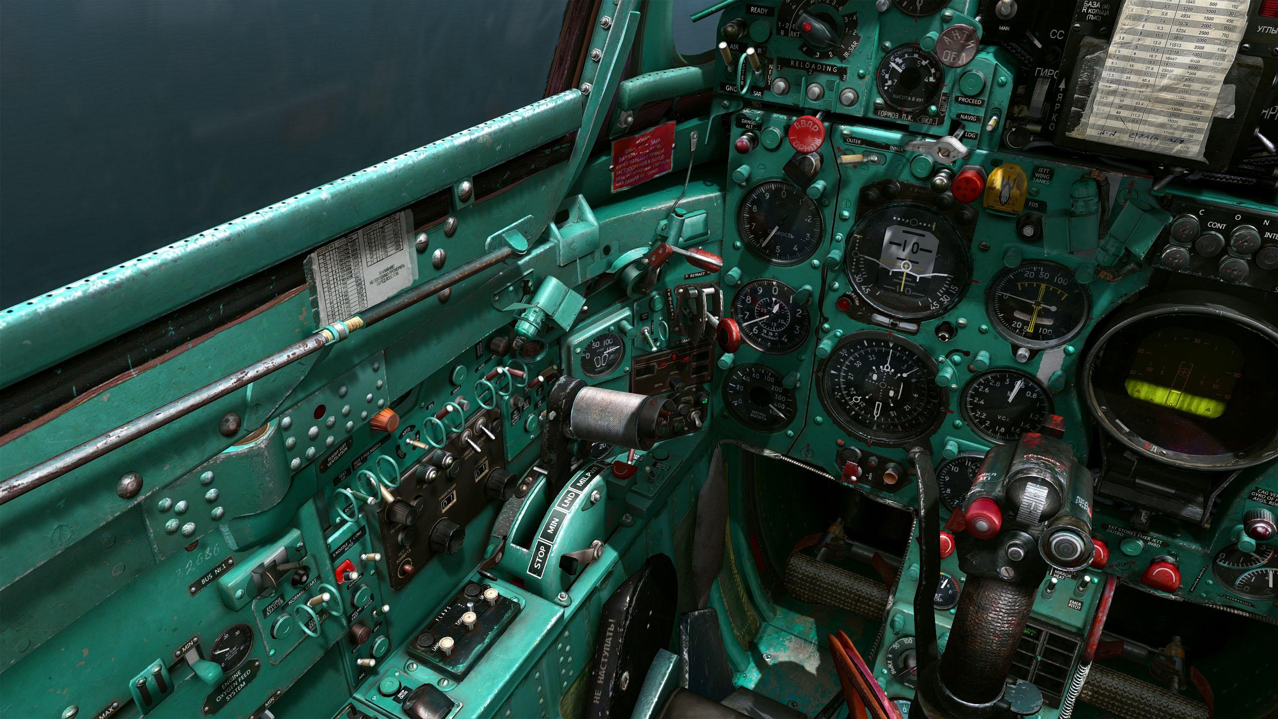 mig21 green cockpit