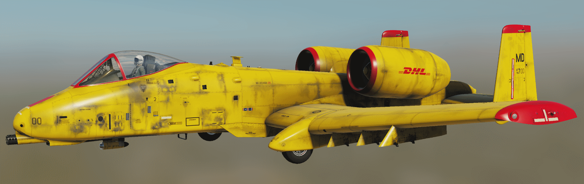 DHL Livery for A-10C