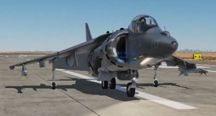 DCS Harrier GND INS tutorial italiano guida AV-8B Night Attack
