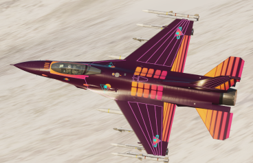 Synthwave F-16C Viper Livery