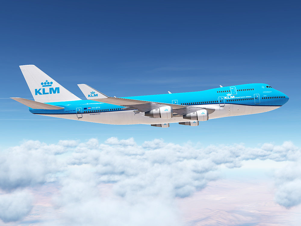KLM Royal Dutch Airlines 747 (Modern Paint for Civil Aircraft Mod)