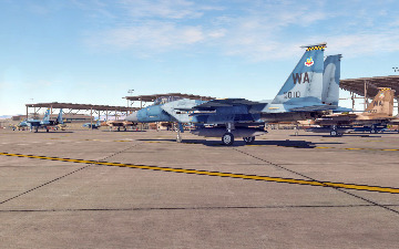 F-15C Aggressors BFM Campaign by Maple Flag