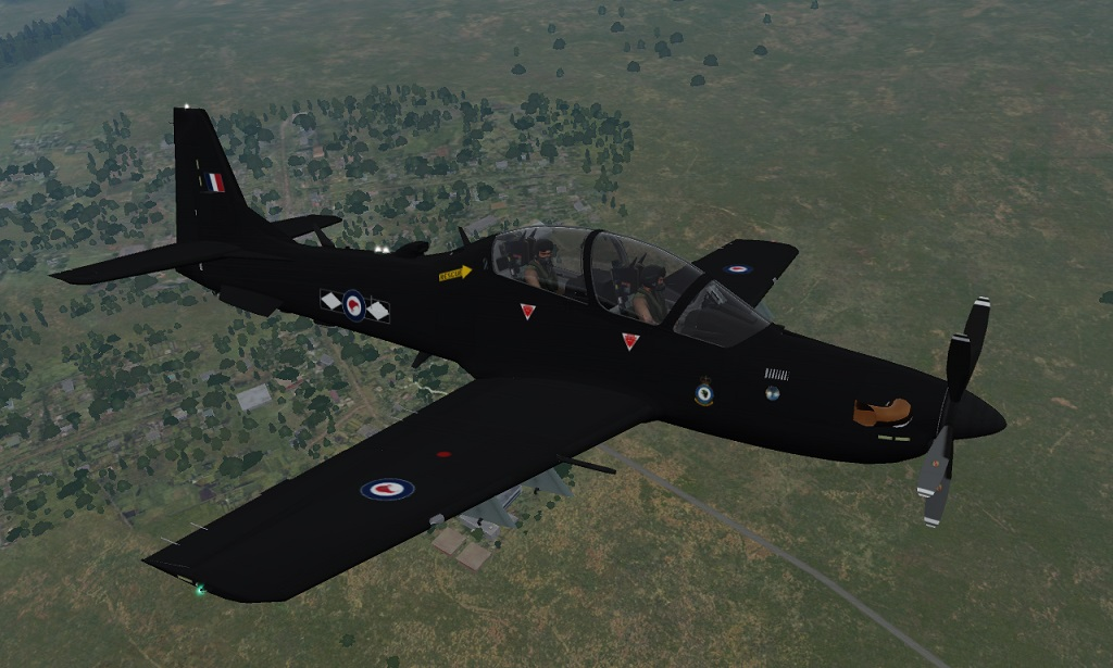 RNZAF (Fictional) A-29B   Matt Black