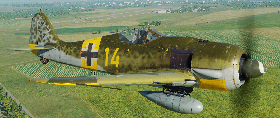FW-190A5 Generic Eastern Front Skin