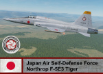 Fictional Japan Air Self-Defense Force F-5E3 Tiger (305th TFS)