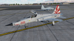 VF-111 'Sundowners' Tomcat Squadron Skin for F-5E Tiger II