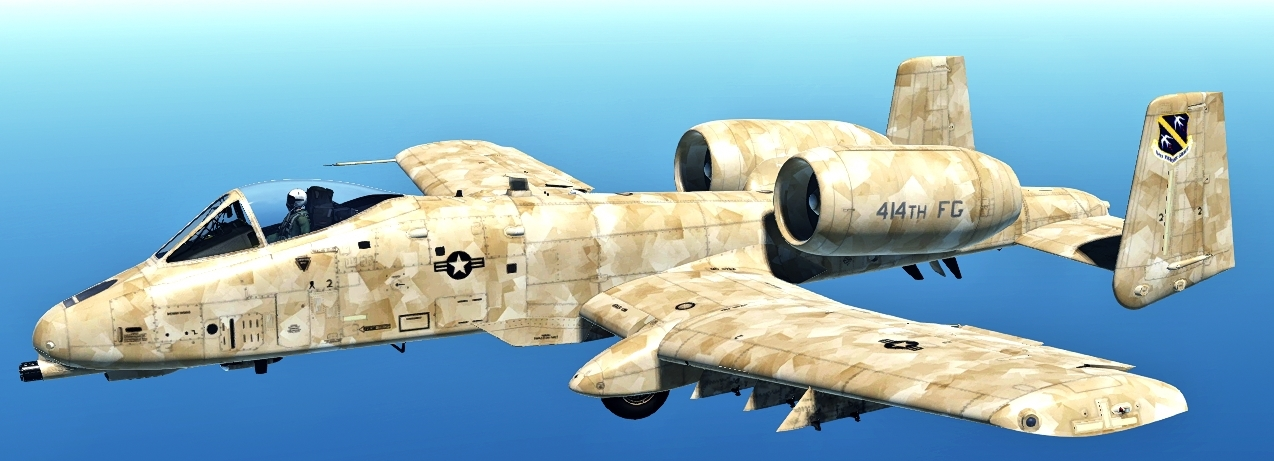 414th FG A-10C desert camo [FICTIONAL]