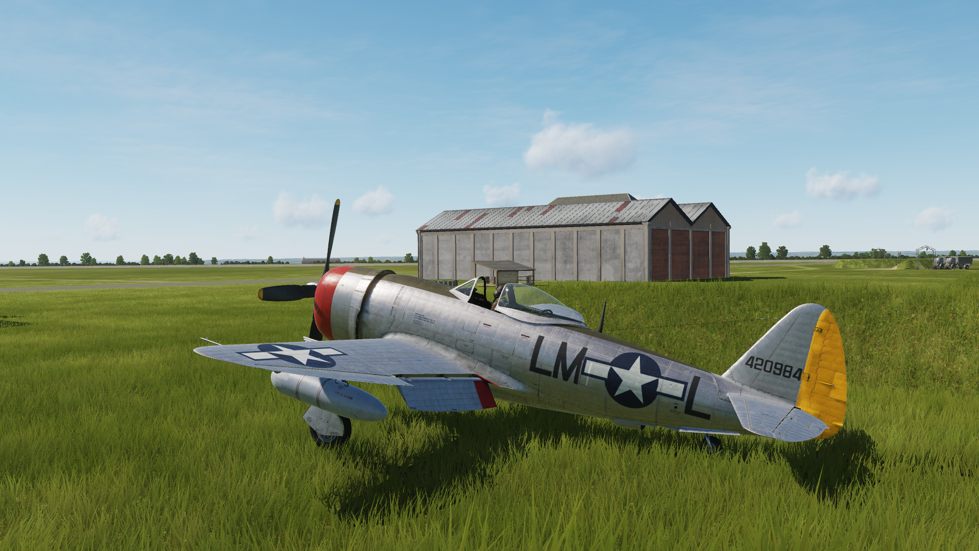 56th FG, 62nd FS Generic metal skin
