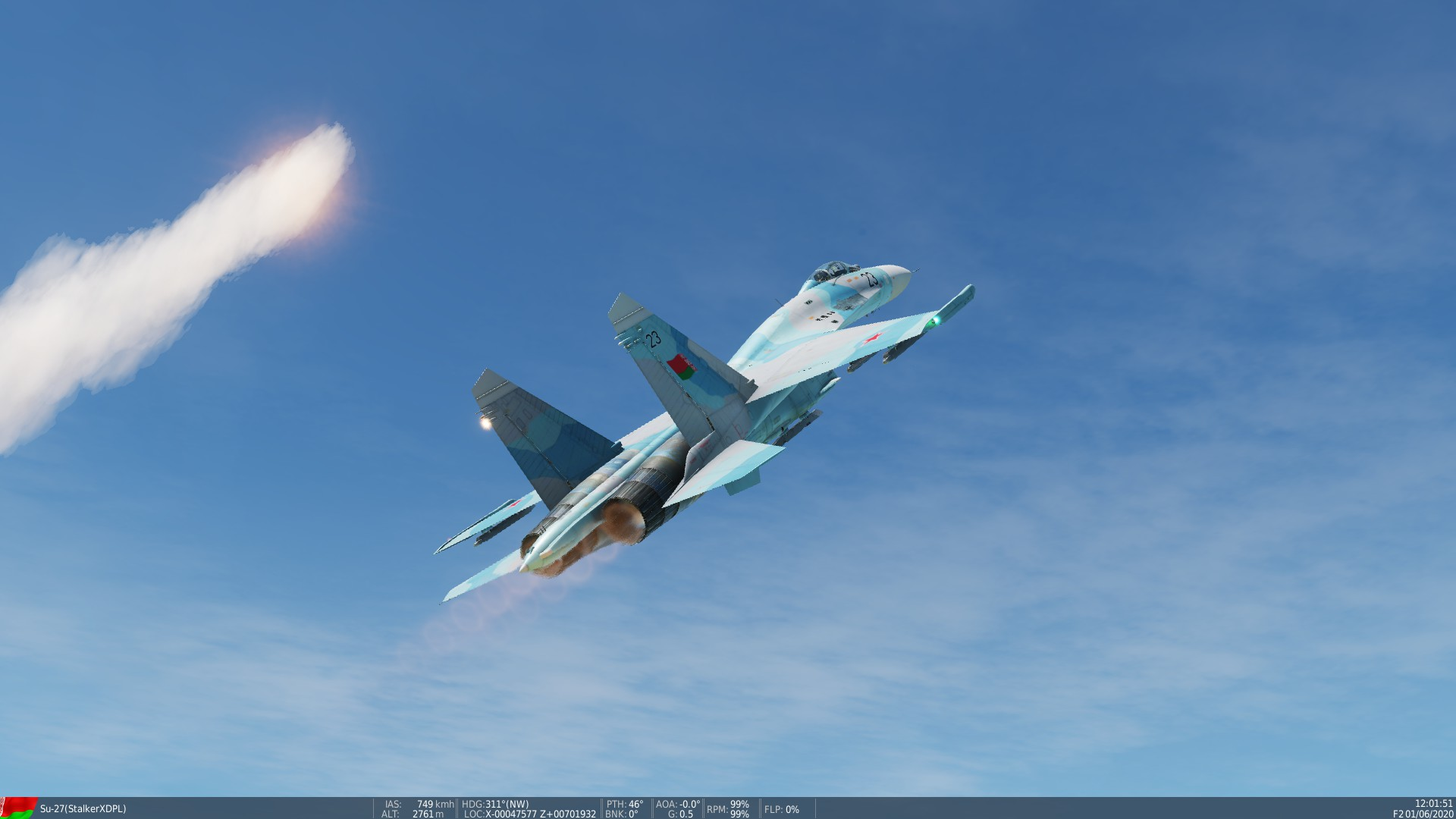 Su-27 Belarusian Air Force