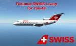 SWISS [Fictional Yak-40 Livery]