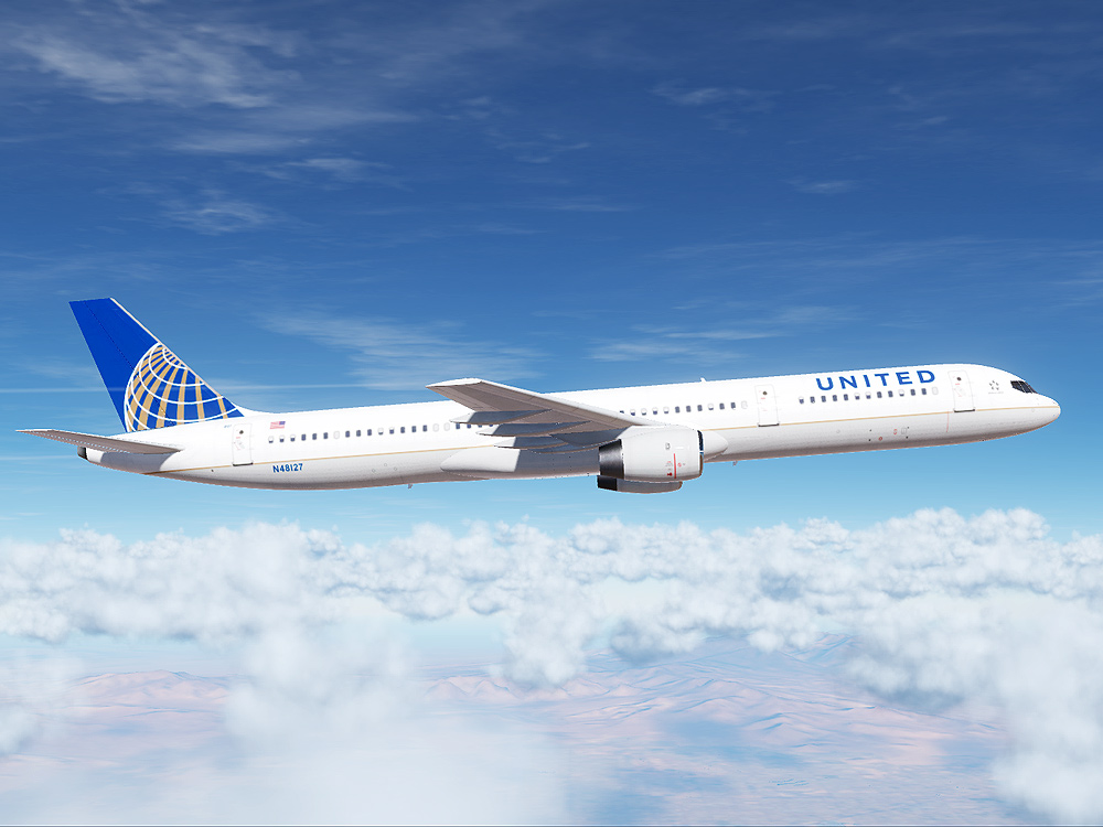United Airlines Boeing 757 (Retro Paint for Civil Aircraft Mod)