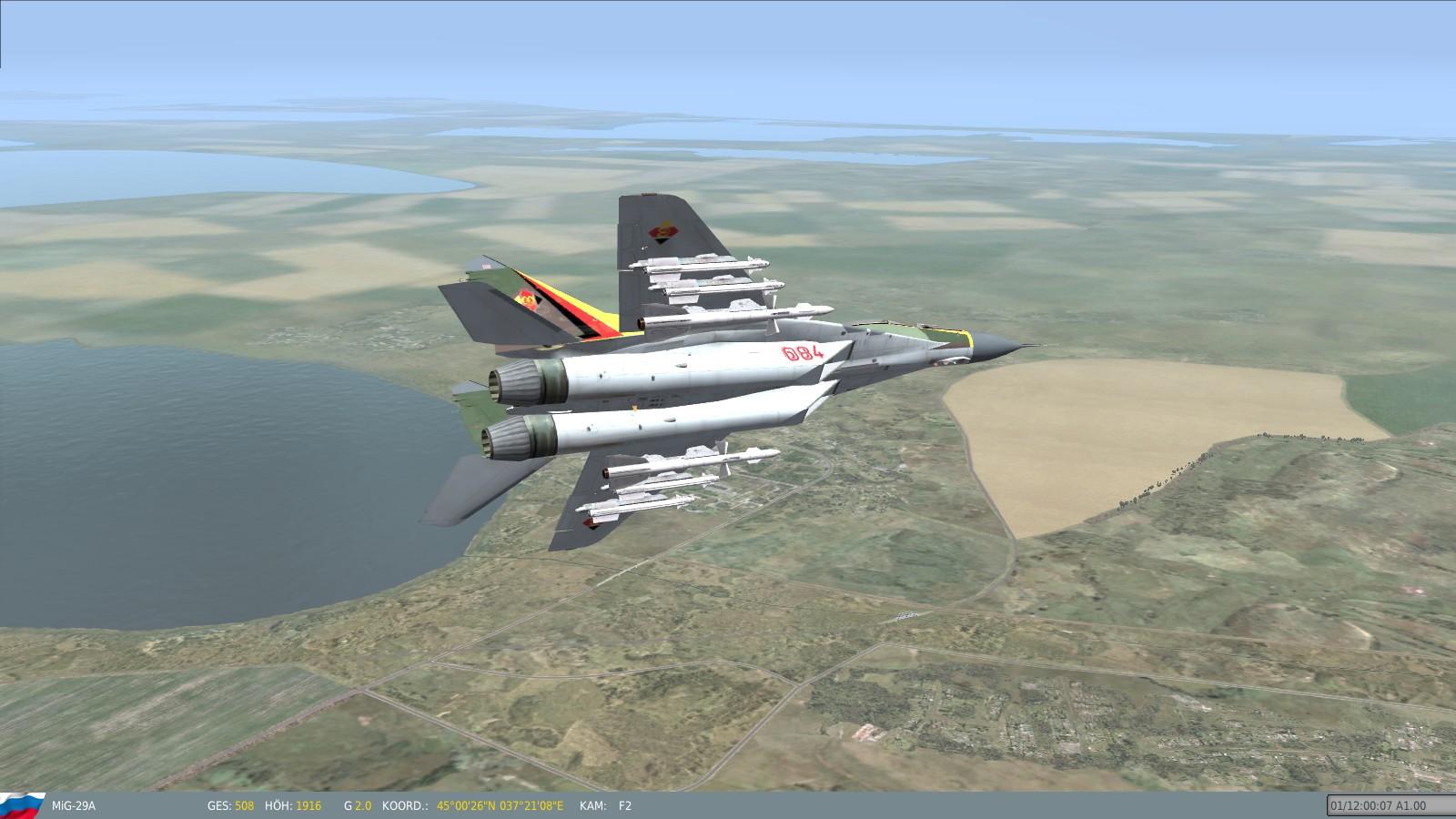 last flight of east german mig