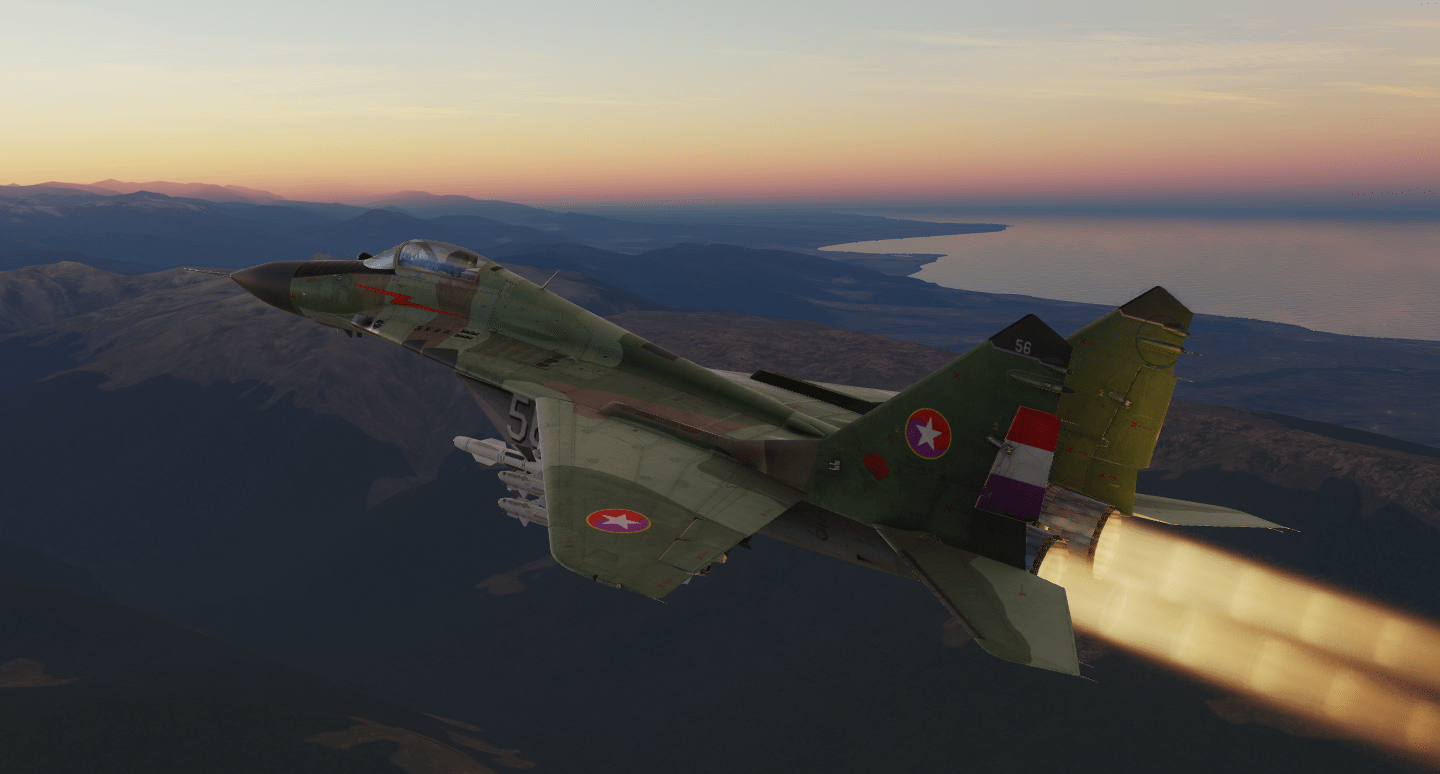 MiG-29A Chundian Air Force Standard (Fictional)