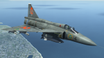 Weathered JA 37 Swedish Air Force Skin to LNS AJS 37