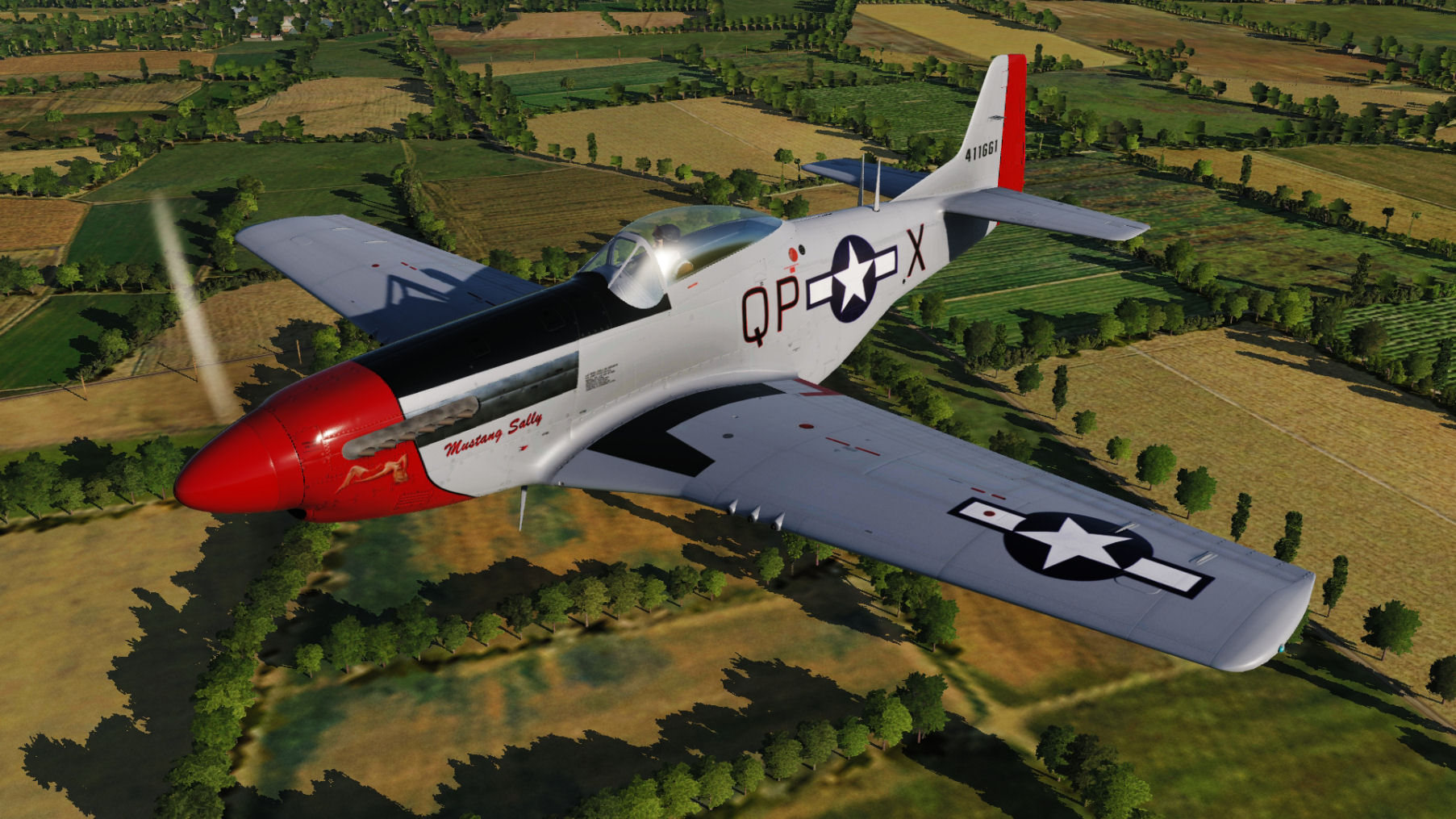 "USAF 44-11661 QP-X ""Mustang Sally"" updated for DCS World 2.5.5"
