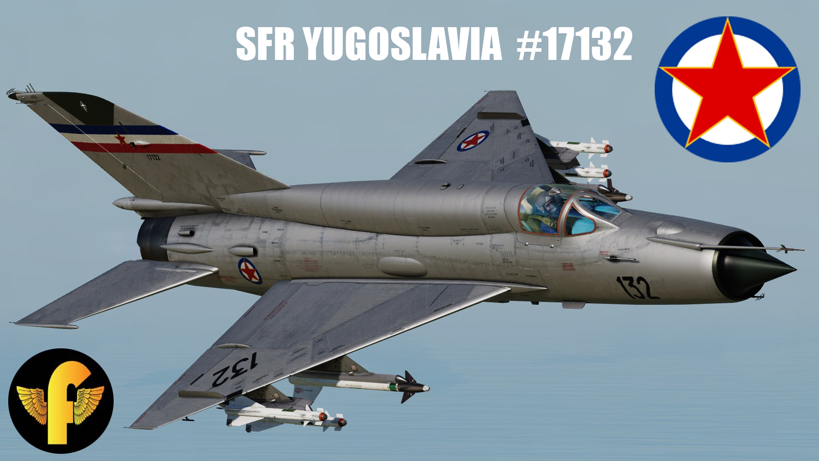 Mig-21BIS SFR Yugoslavia #17132 (NOT UPDATED)