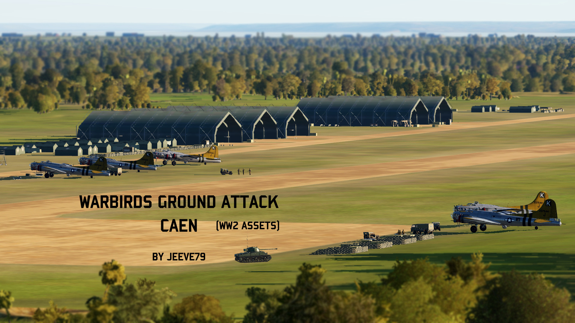 Warbirds Ground Attack Caen