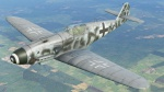 Bf109K-4 Teufel JG2 8-skinpack for use with DCS 2.1 Normandy. ( Fictional Paintscheme )